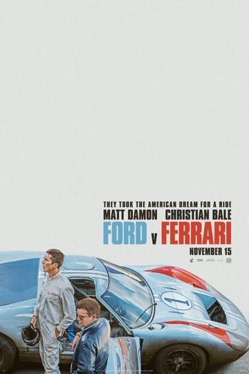 Ford v Ferrari Movie Poster