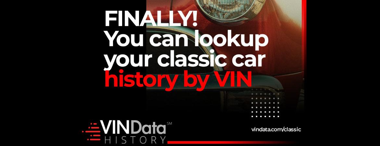 Vin Data History Logo