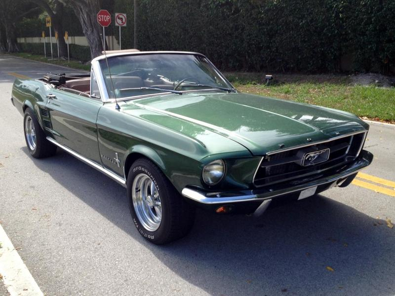 1967 mustang convertible completely restored for sale. Black Bedroom Furniture Sets. Home Design Ideas