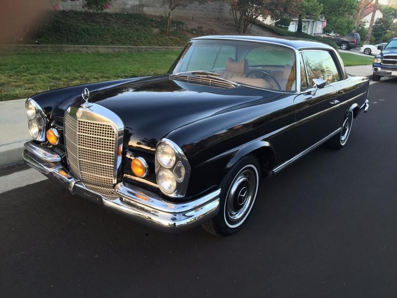 1969 mercedes 280se coupe for sale. Black Bedroom Furniture Sets. Home Design Ideas