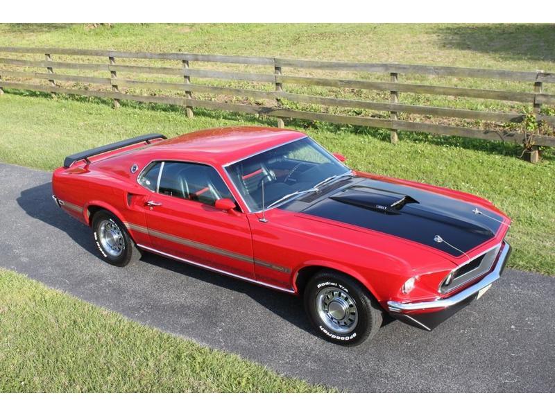 1969 Mustang Mach 1 - Restored! For Sale