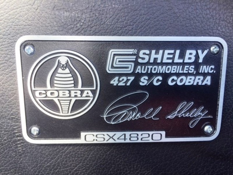 1965 Shelby CSX 4000 for Sale Image 20