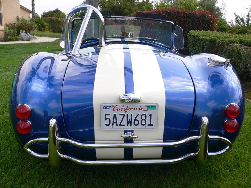 1965 Shelby Cobra Replica for Sale Image 4