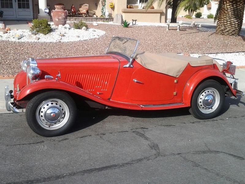 1952 MG TF 160