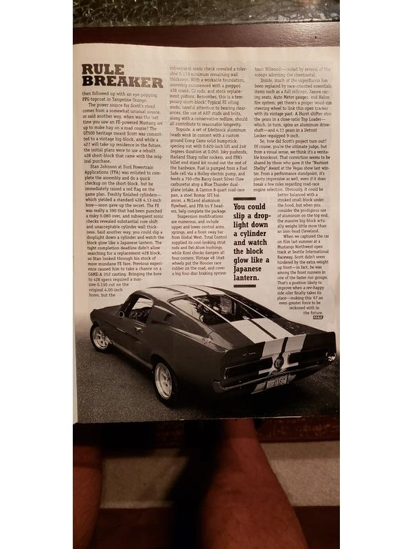 1967 Shelby GT500 for Sale Image 21