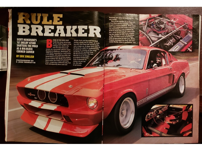 1967 Shelby GT500 for Sale Image 18