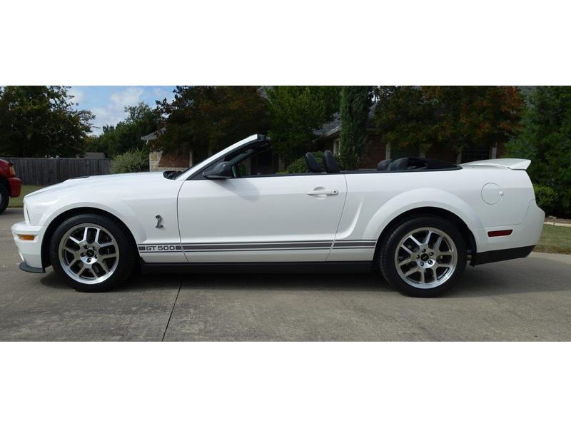 2007 Shelby GT500 for Sale Image 3