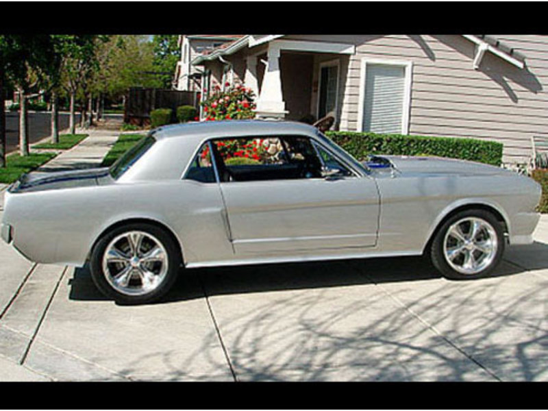 1965 Mustang Coupe Super Custom Restomod For Sale