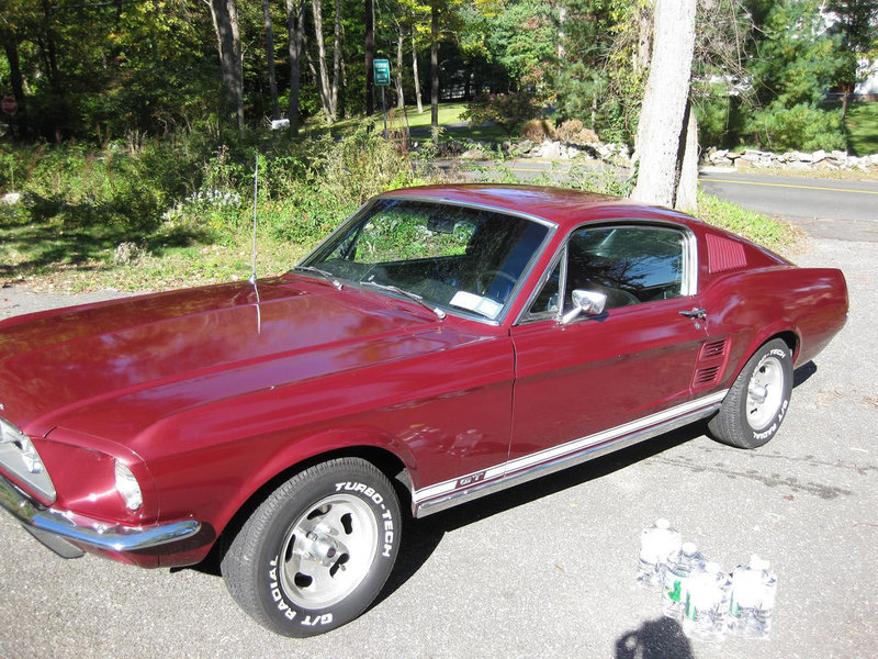 1967 Fastback Mustang GT