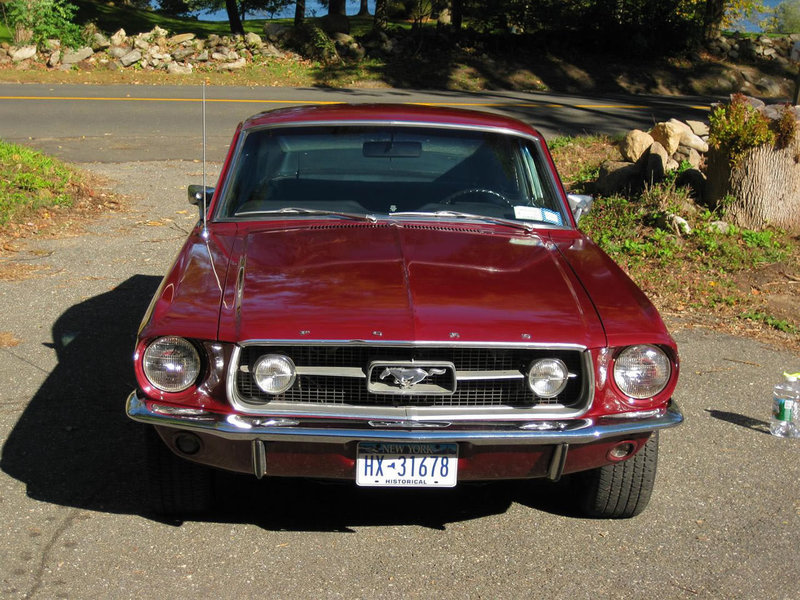 1967 Fastback Mustang GT