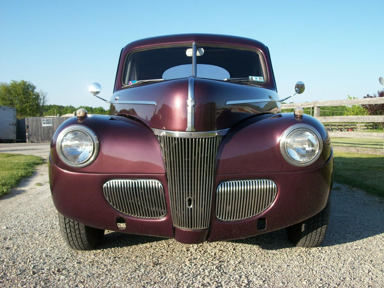 1941 Ford Coupe - Custom Touring Street Rod For Sale