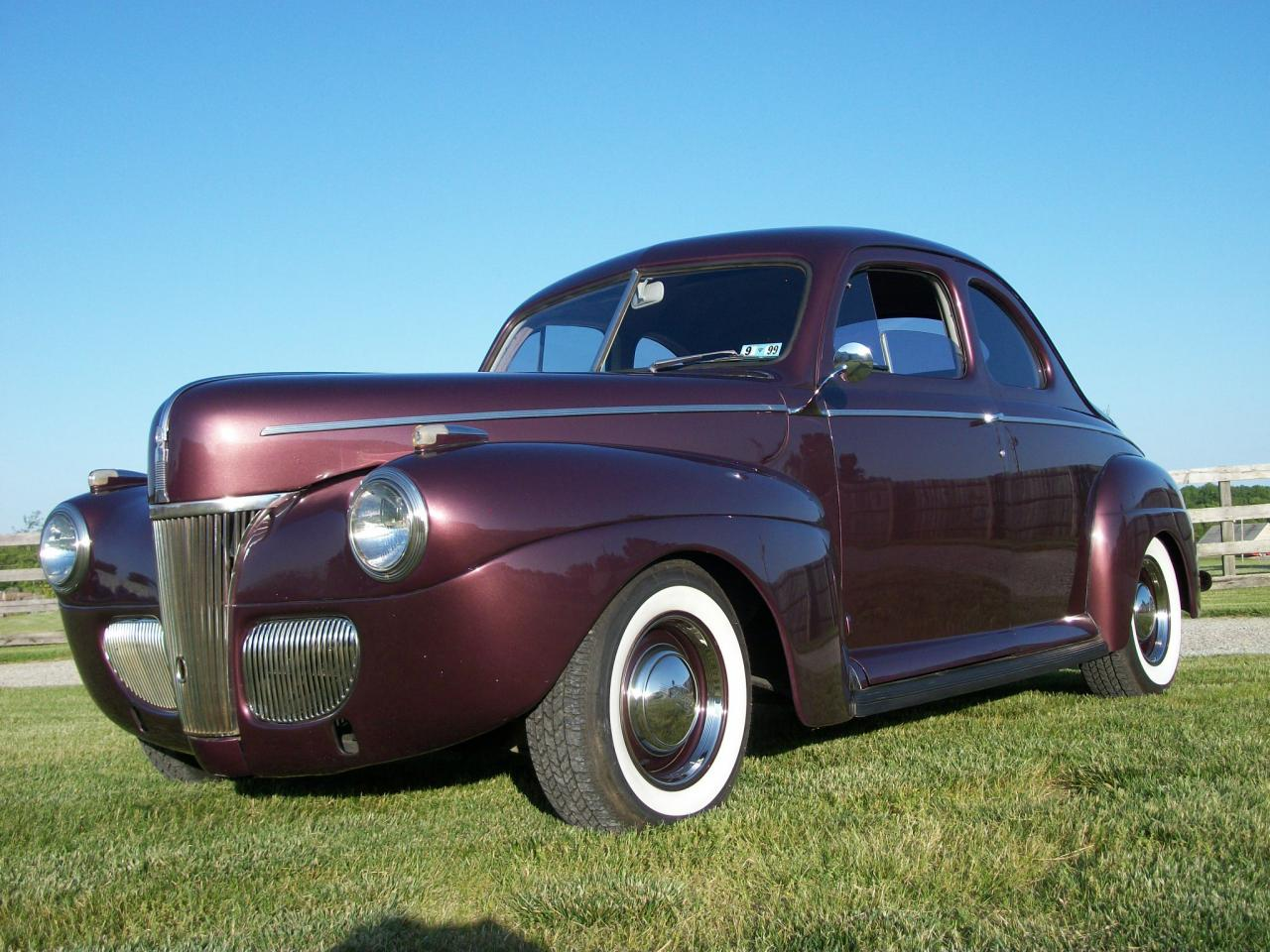 1941 Ford Coupe Custom Touring Street Rod For Sale Vin Location