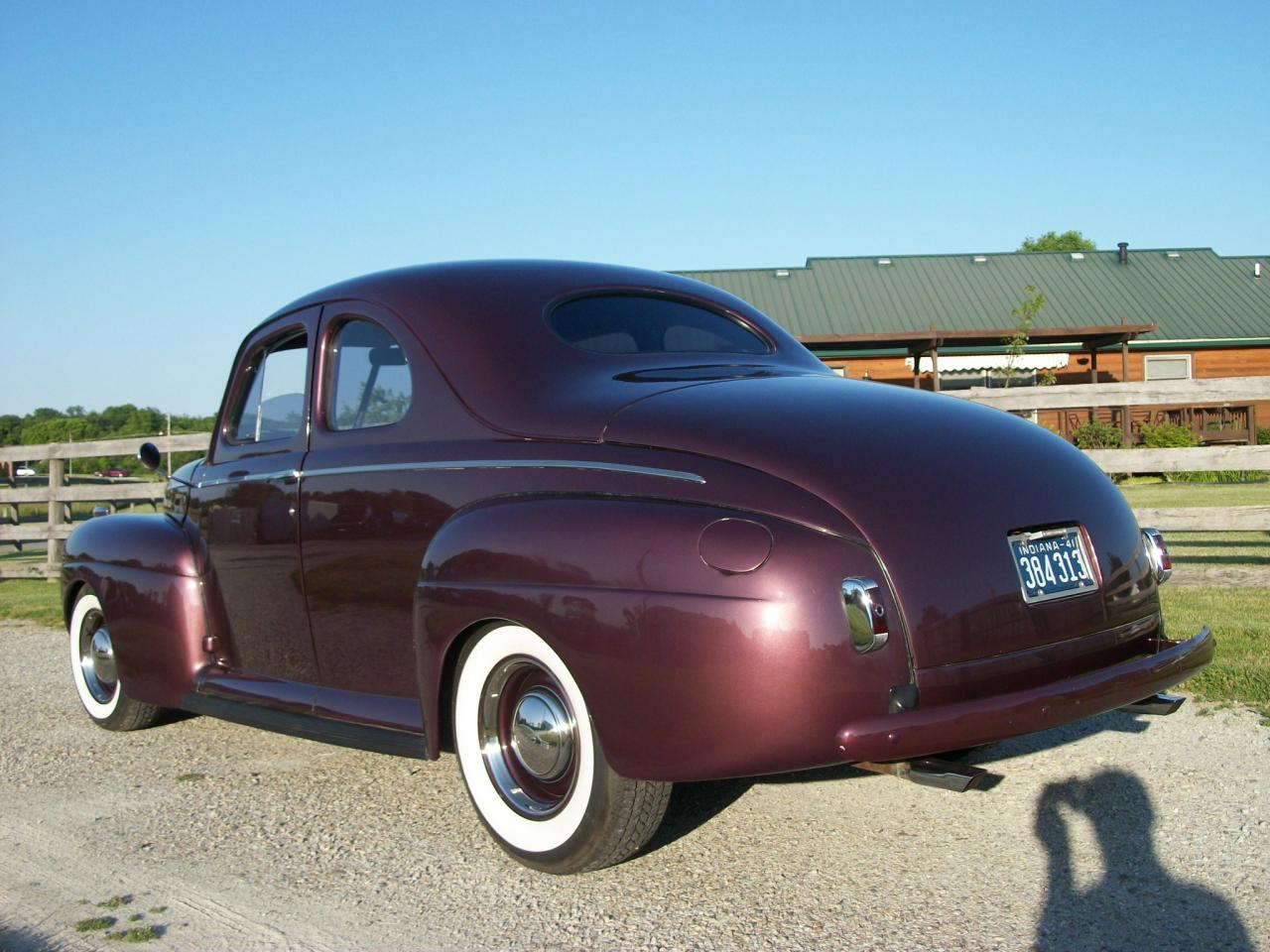 1941 Ford Coupe Parts For Sale Truck Front Fenders Cust1941