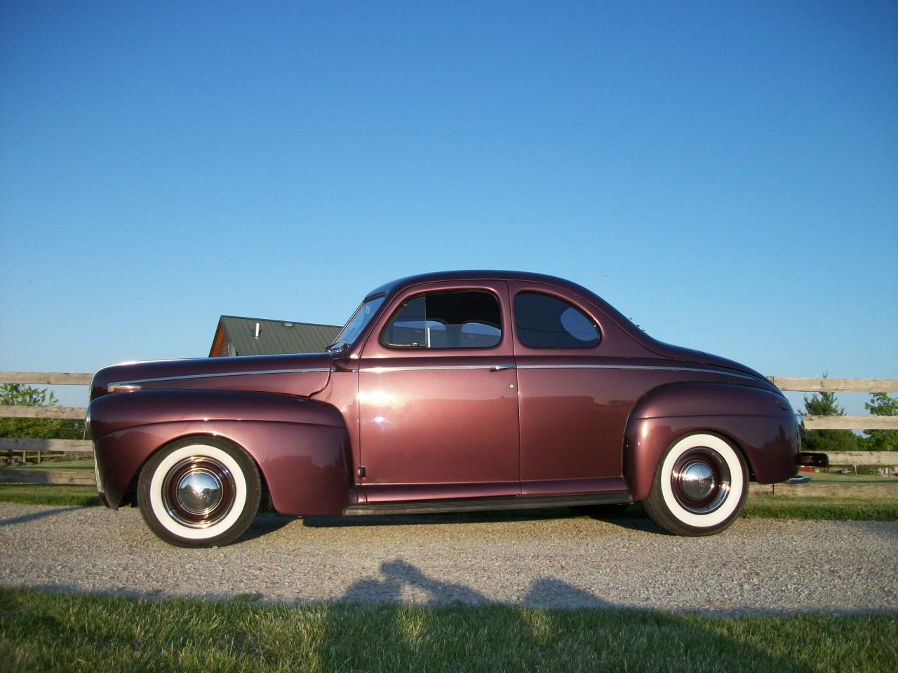 1941 Ford Coupe Custom Touring Street Rod For Sale