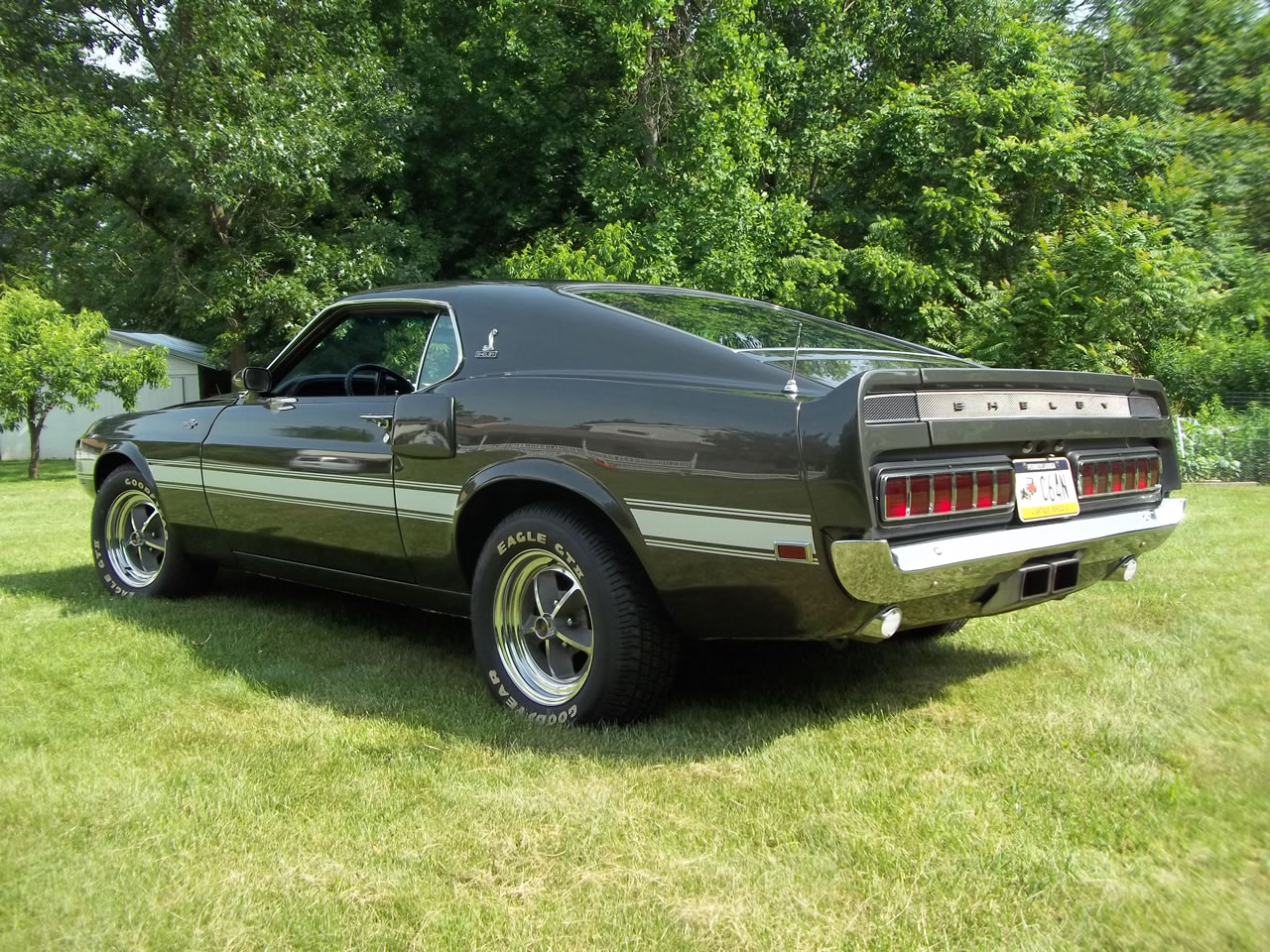 1969 mustang shelby gt 500 4 speed for sale