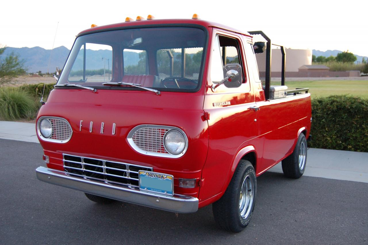 1961 ford econoline pickup e series very rare for sale. Black Bedroom Furniture Sets. Home Design Ideas