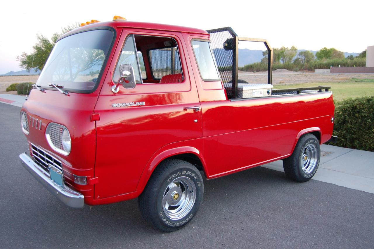 1961 ford econoline pickup e series very for sale. Black Bedroom Furniture Sets. Home Design Ideas