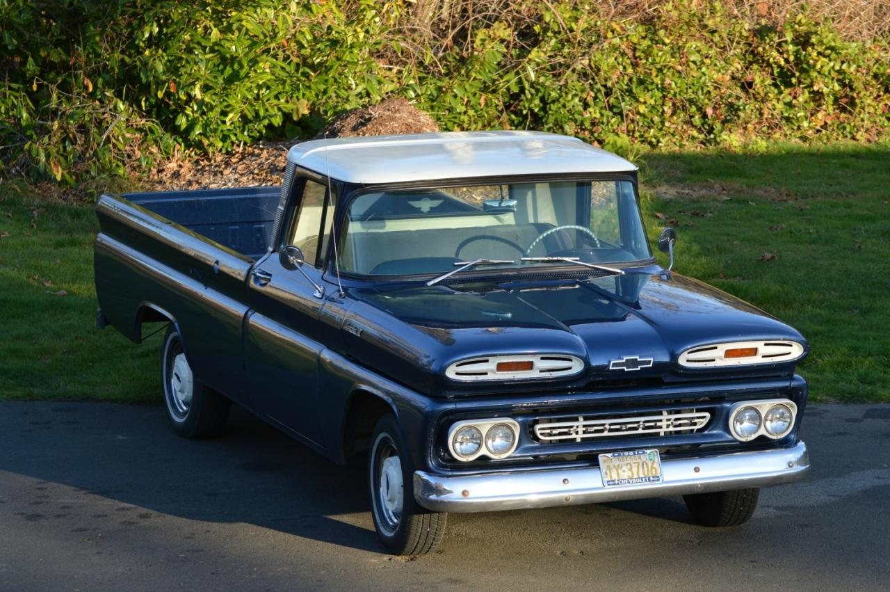 1961 c10 chevy pick up truck restomod for sale. Black Bedroom Furniture Sets. Home Design Ideas