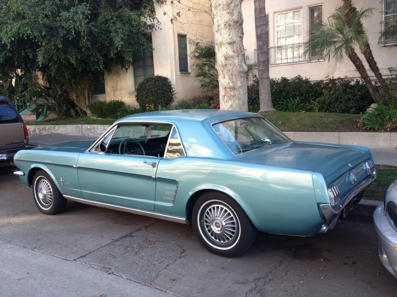1966 mustang coupe 6 cylinder automatic for sale
