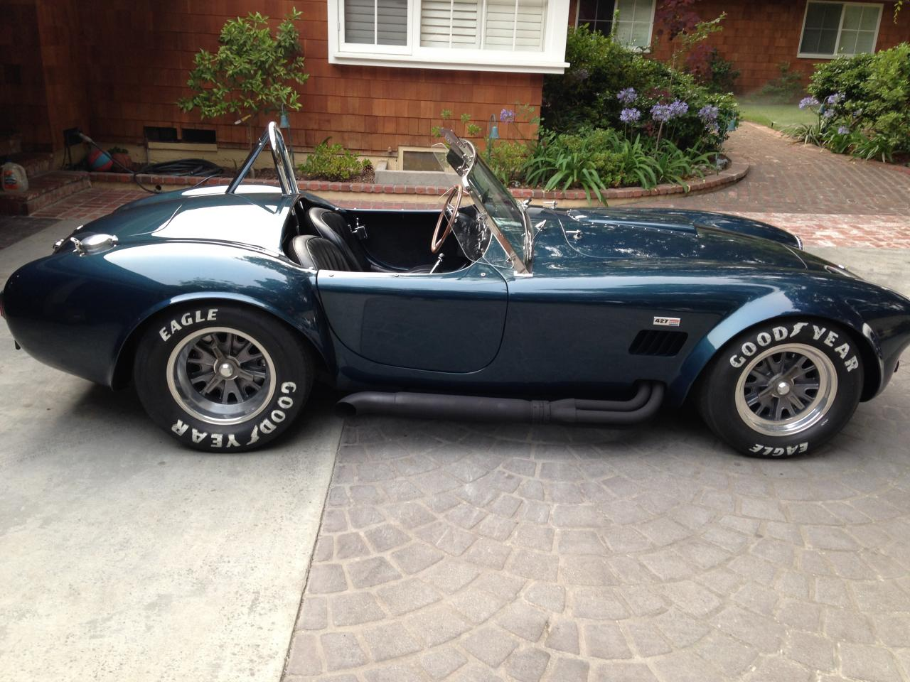 1965 shelby cobra csx4000 aluminum body