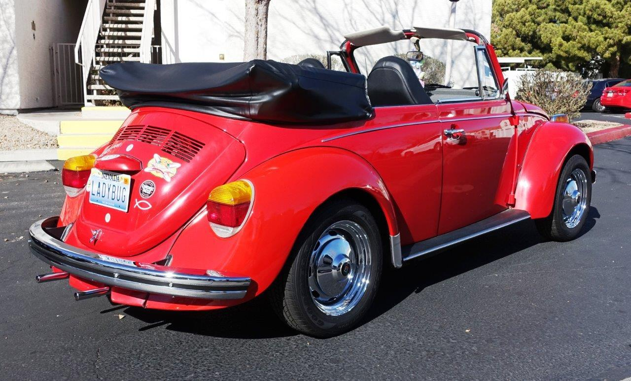 1973 Super Beetle Convertible For Sale