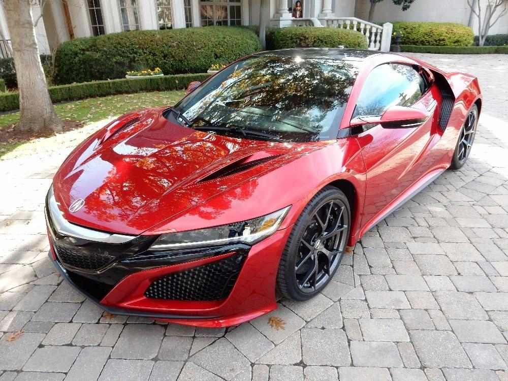 2017 Acura NSX - Only 13 Miles - Like New! For Sale