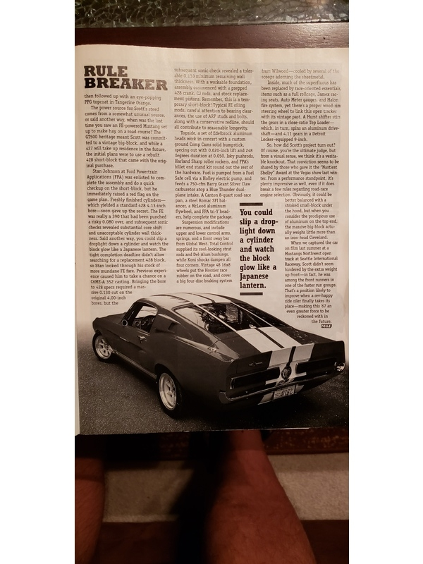 1967 Shelby GT500 - Street Legal, Track Ready For Sale