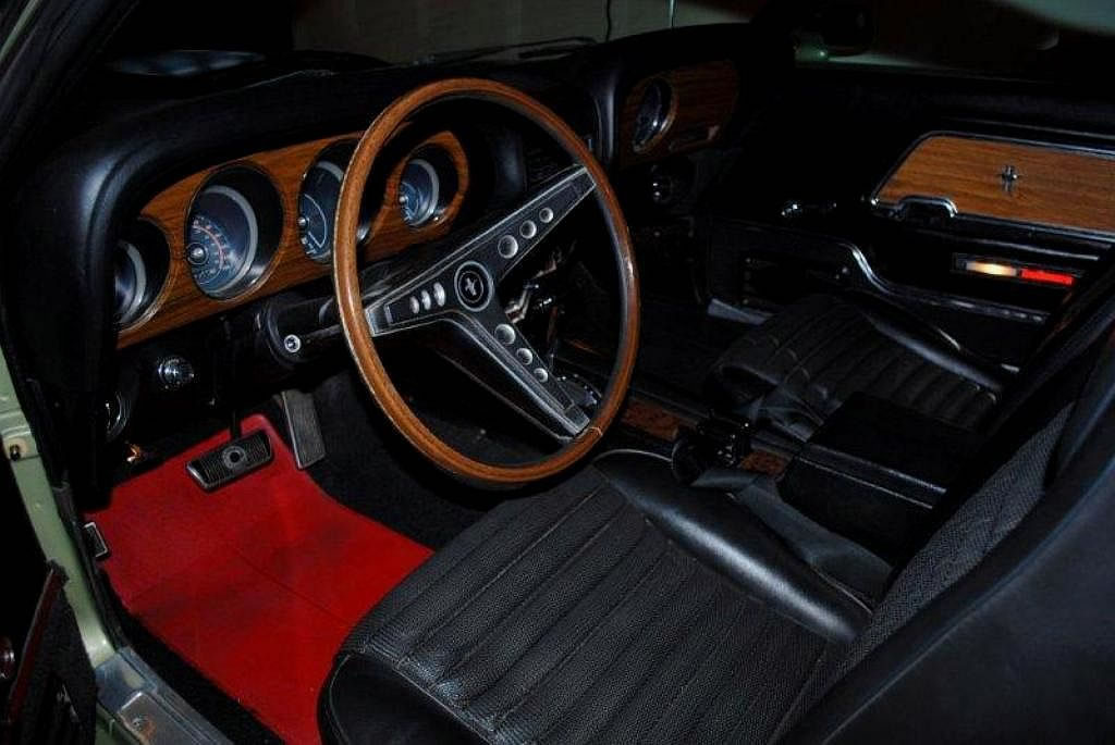 1969 Mustang Mach 1 West Coast Car Auto Ac For Sale
