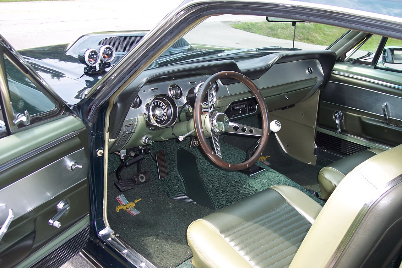 1967 ford mustang fastback - 1967 Ford Mustang Fastback Interior