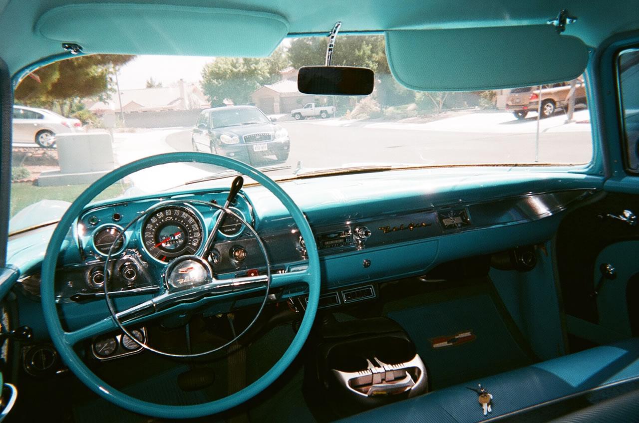 1957 Chevy Bel Air Sedan For Sale Chevrolet Vin Tag