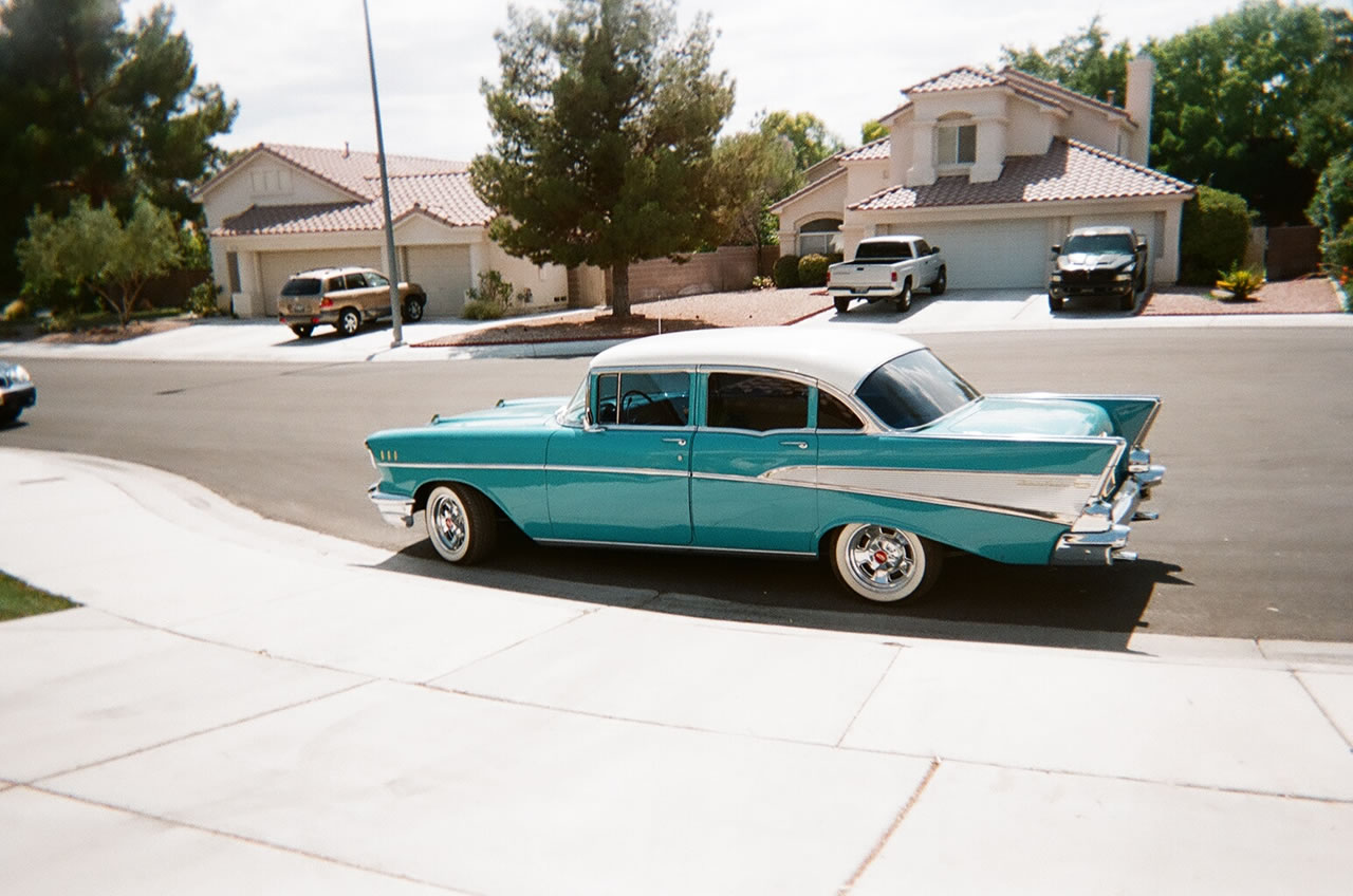 1957 Chevy Bel Air Sedan For Sale