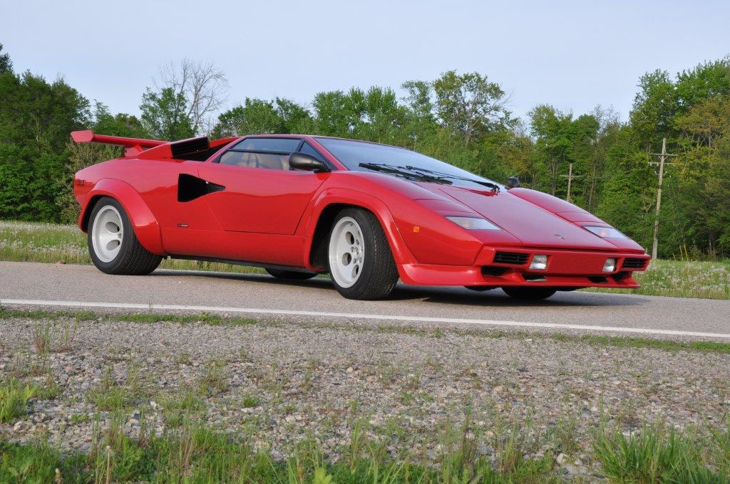 1981 lamborghini countach lp400s series 2 low body for sale. Black Bedroom Furniture Sets. Home Design Ideas