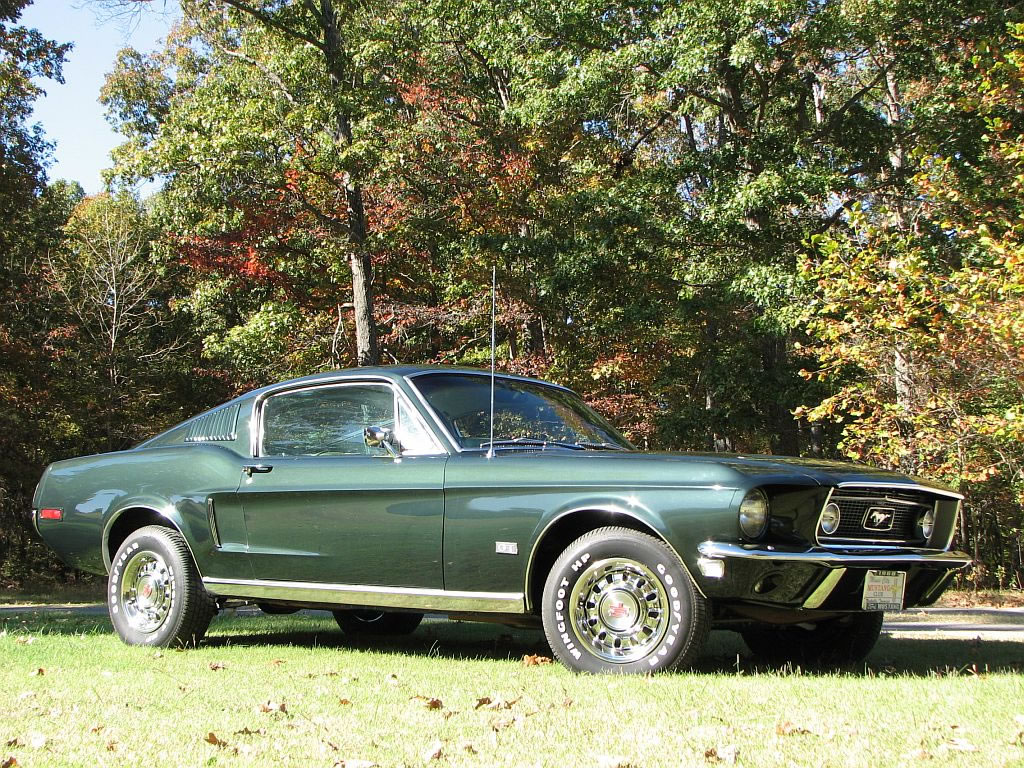 1968 ford mustang fastback j code 4bbl 302