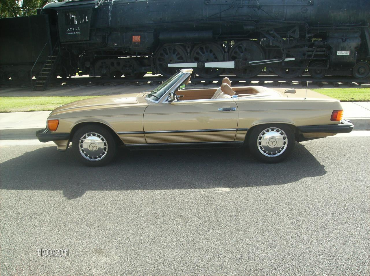 Mercedes SL550 convertible For Sale