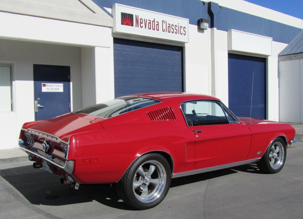 1968 mustang gt resto mod for sale