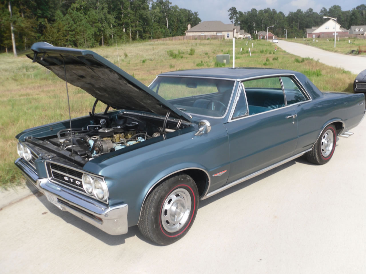 1964 gto pontiac hardtop 389 tri power for sale