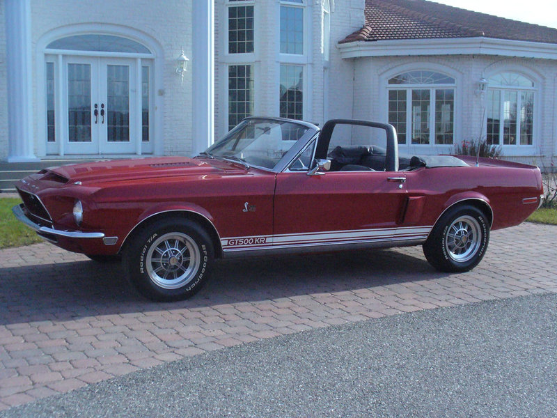 1968 Mustang Shelby GT500 KR Convertible For Sale